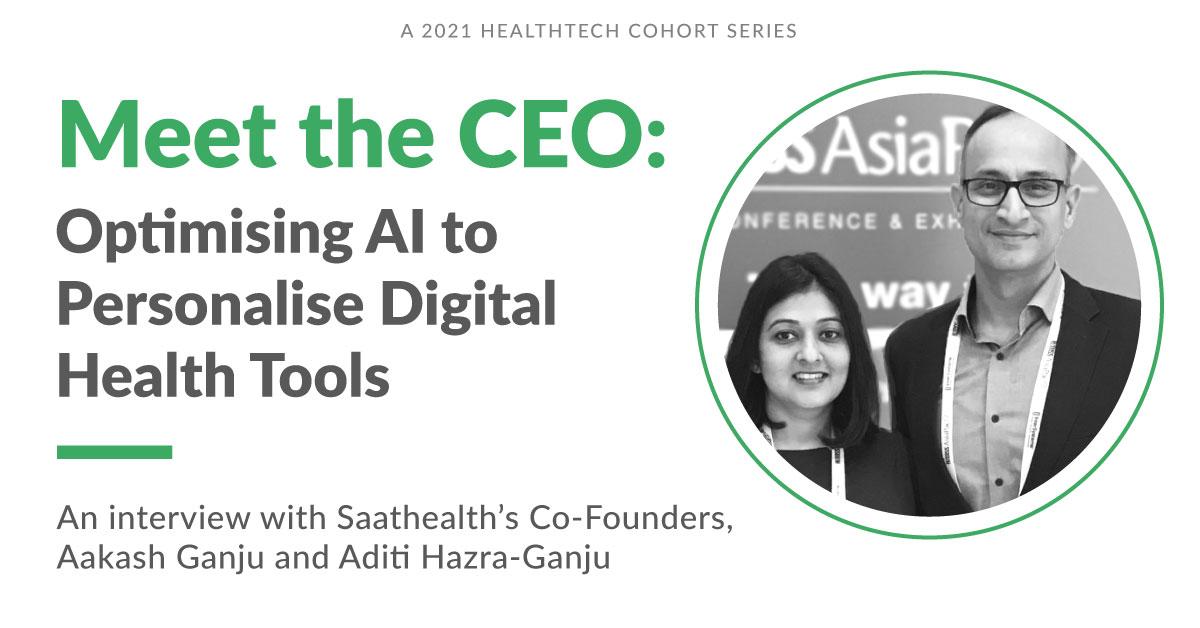 Saathealth Is Optimising AI to Personalise Digital Health Tools