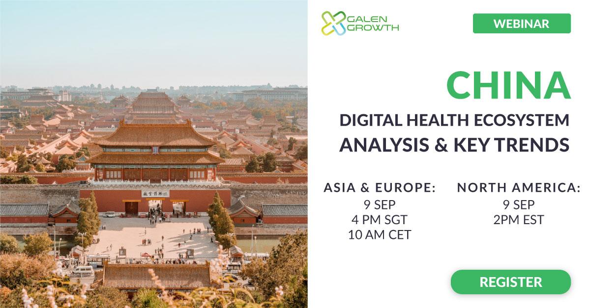 China Digital Health Ecosystem Analysis and Key Trends Webinar